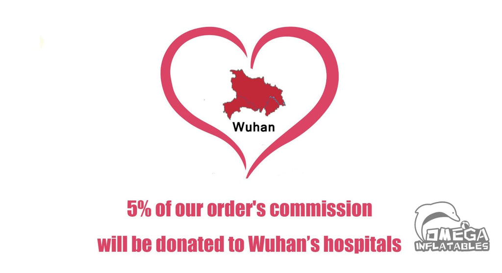 Donation to Wuhan's hospitals