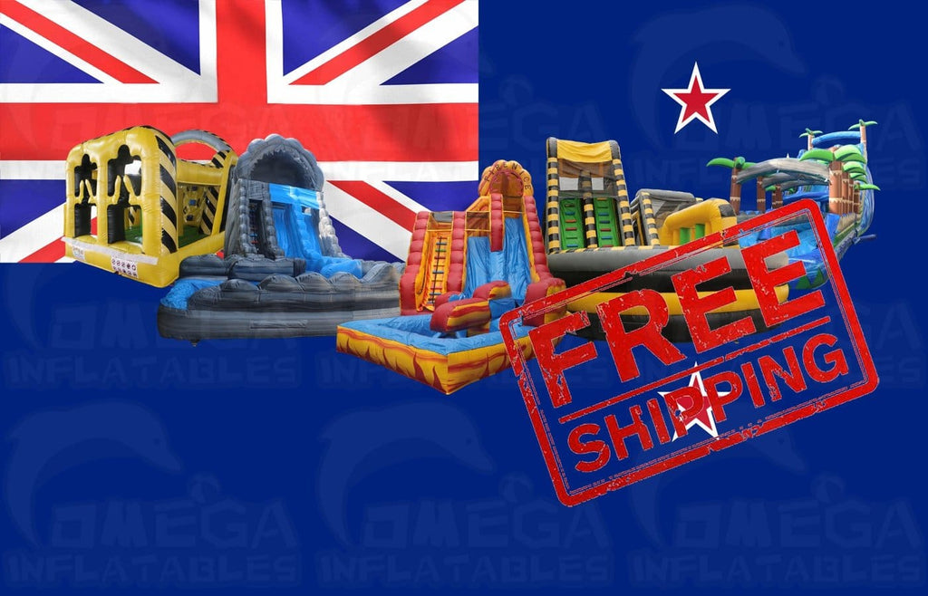Free sea shipping to New Zealand