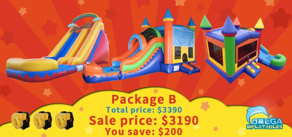 Rainbow themed package deal, help you save $200