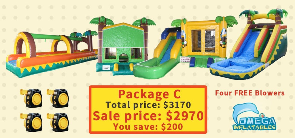 Tropical themed package deal, save $200