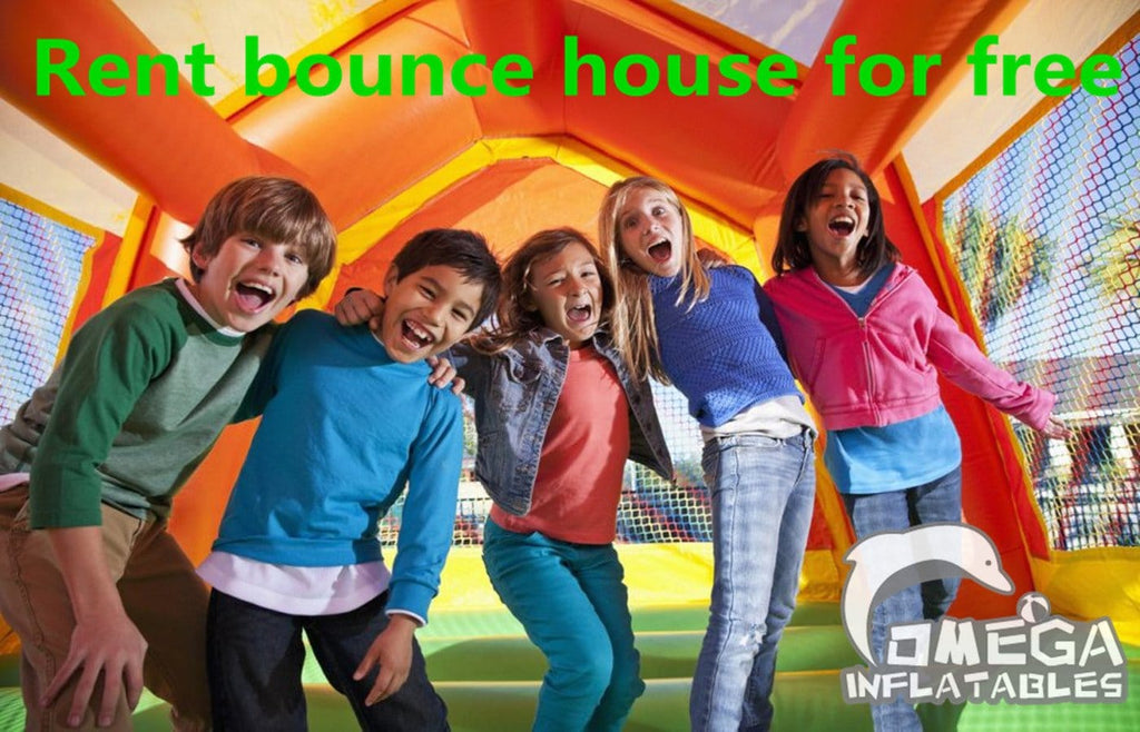 Rent bounce house for free