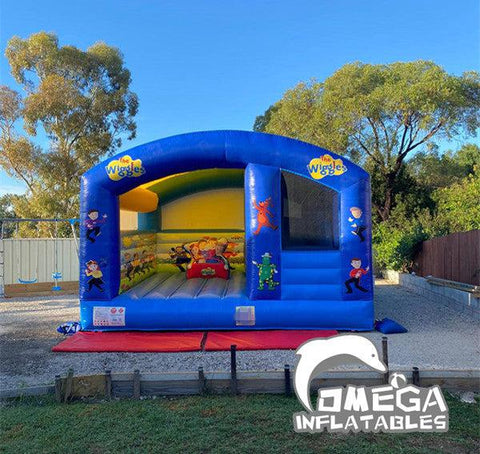 Wiggles Inflatable Jumping Castle with Slide