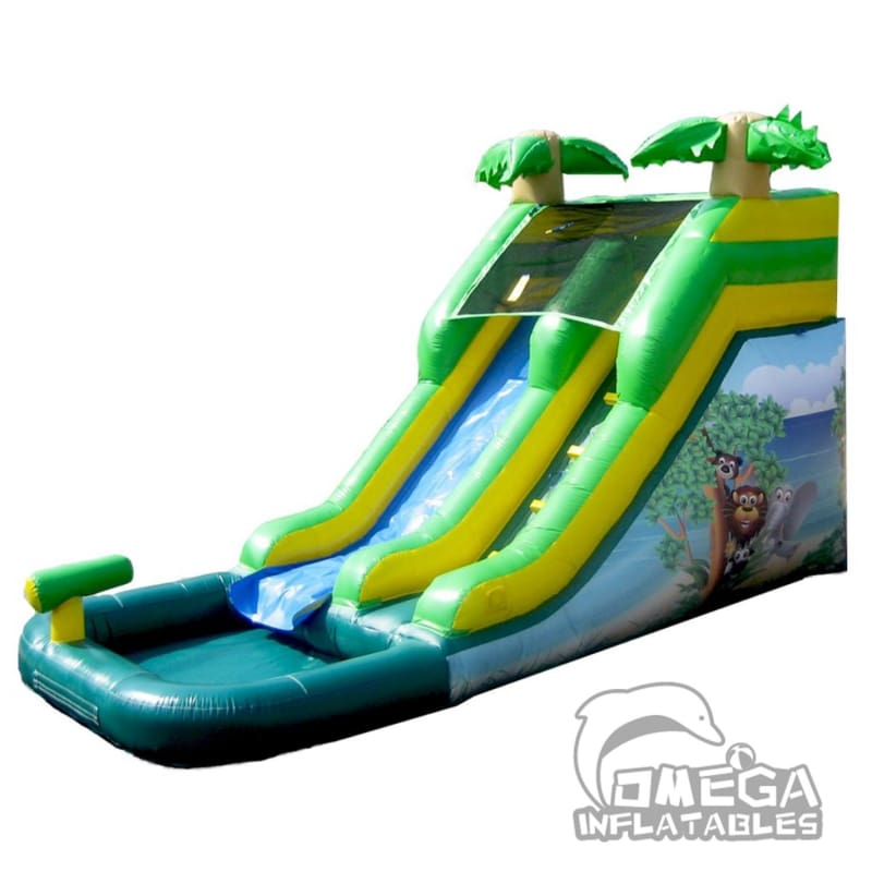 11FT Safari Water Slide