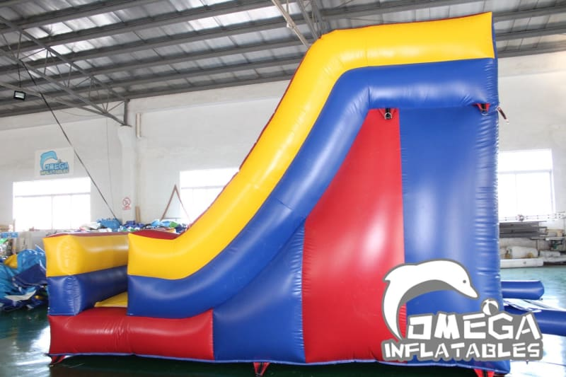 14FT Mini Colorful Dry Slide