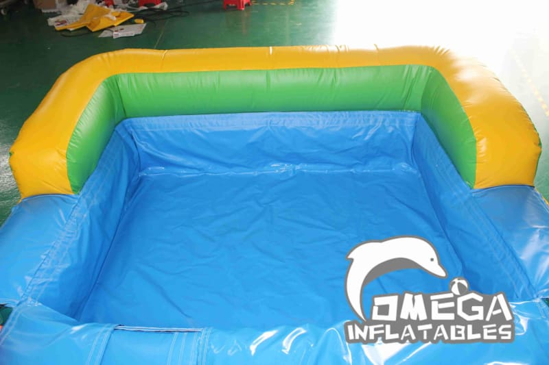 14FT Tropical Aloha Wet Dry Slide