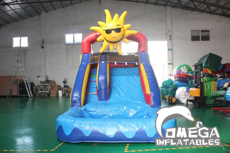 15FT Sunshine Wet Dry Slide