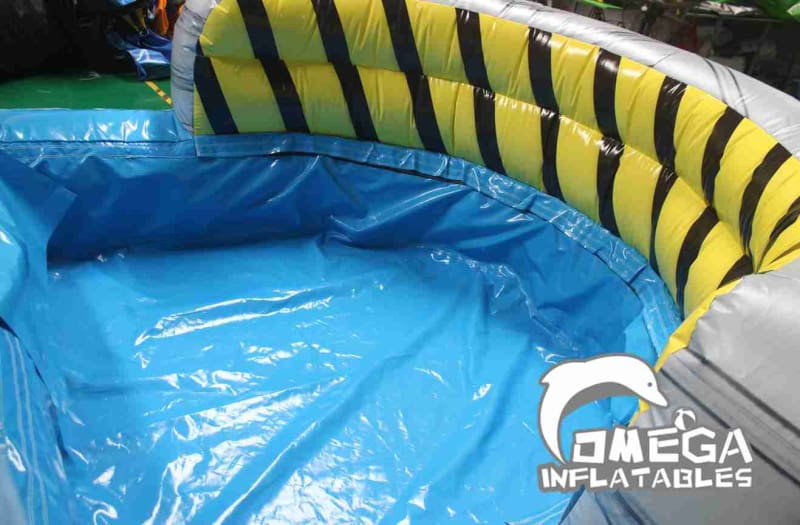16FT Toxic InflatableWet Dry Slide