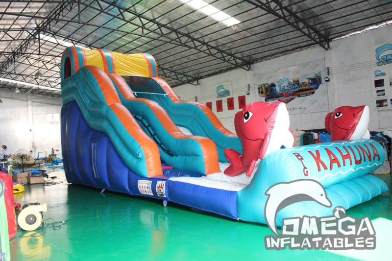 17FT Big Kahuna Water Slide