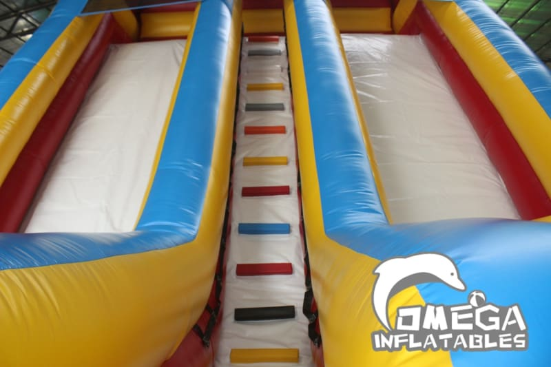18FT Colorful Dry Slide