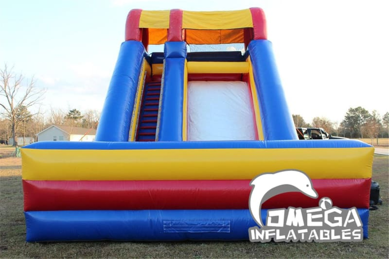 18FT Inflatable Screamer Dry Slide