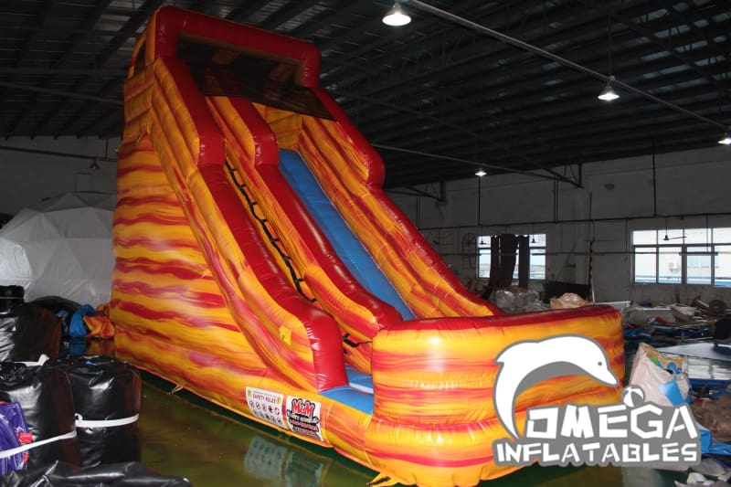 18FT Lava Falls Dry Slide