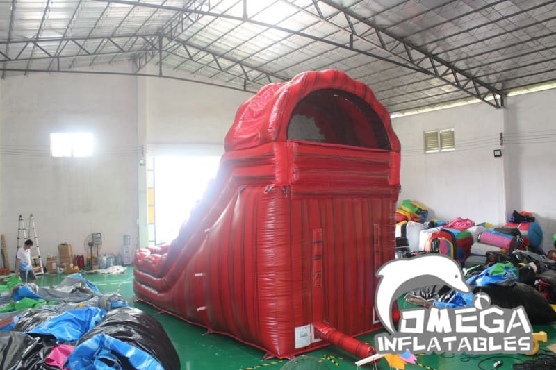 18FT Monster Curve Inflatable Water Slide