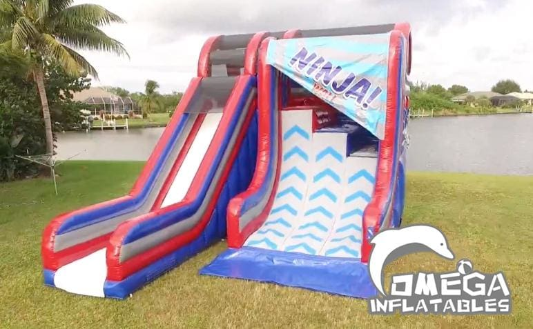 18FT Ninja wall inflatable