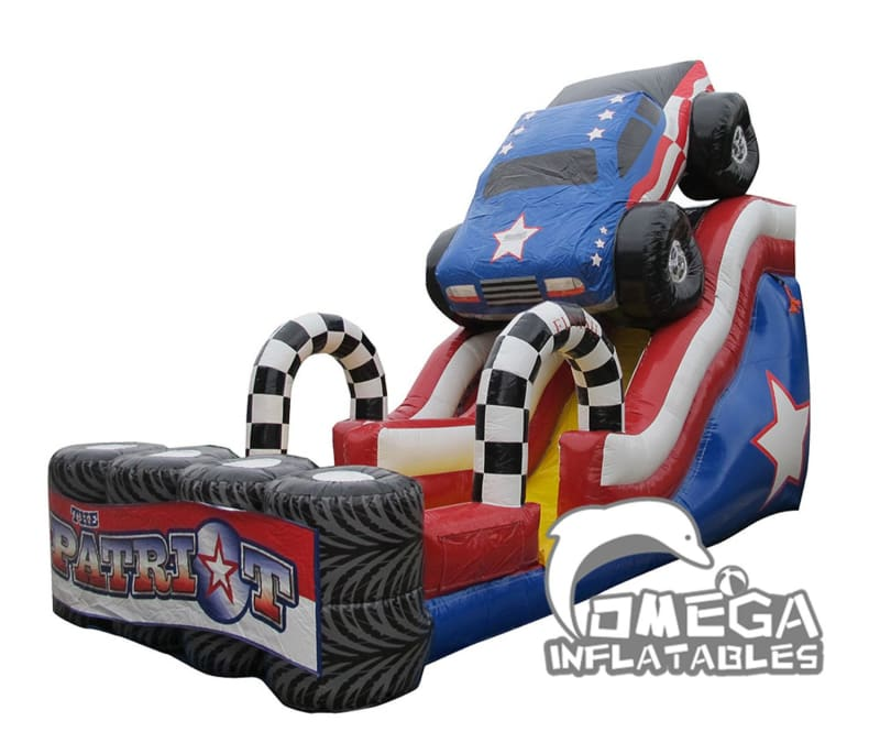 18FT Patriot Monster Truck Slide
