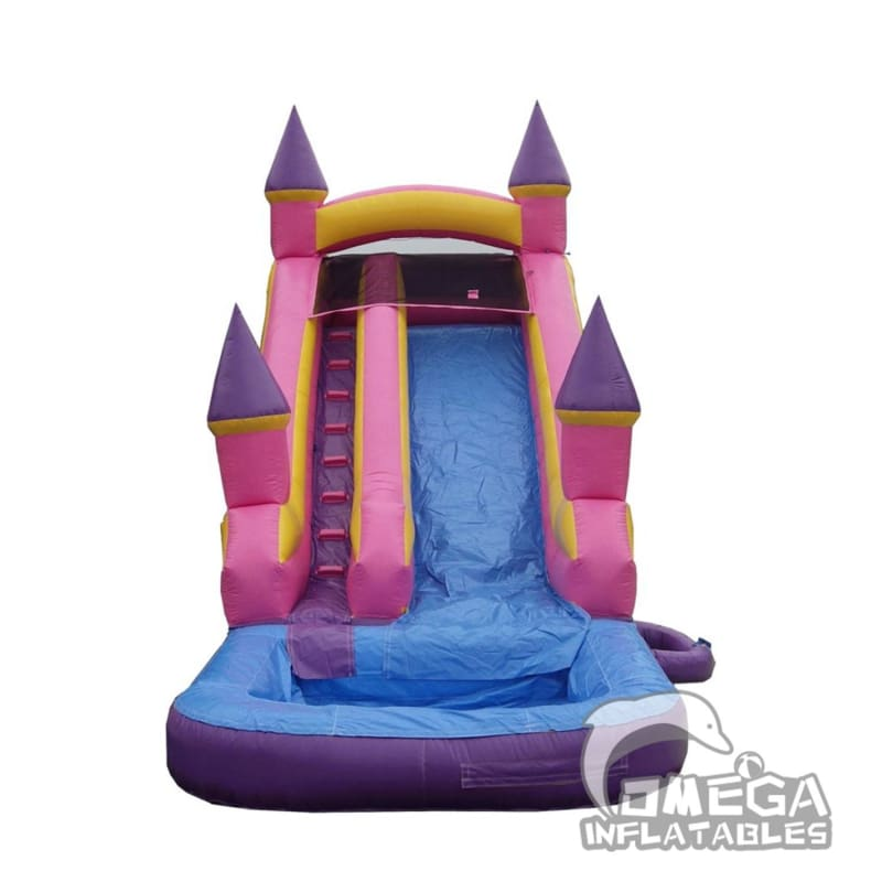 18FT Princess Castle Super Wet Dry Slide