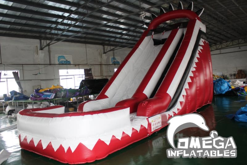 18FT Ragin Cajuns Themed Water Slide