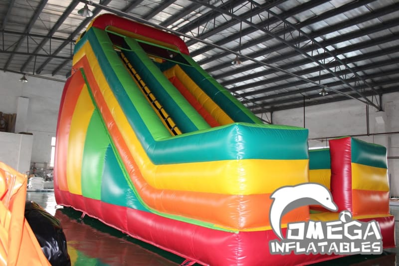 18FT Rainbow Dry Slide