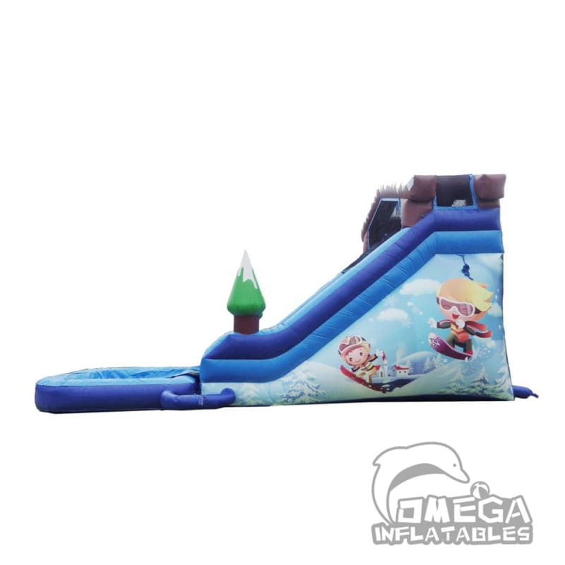 18FT Snow Resort Super Wet Dry Slide