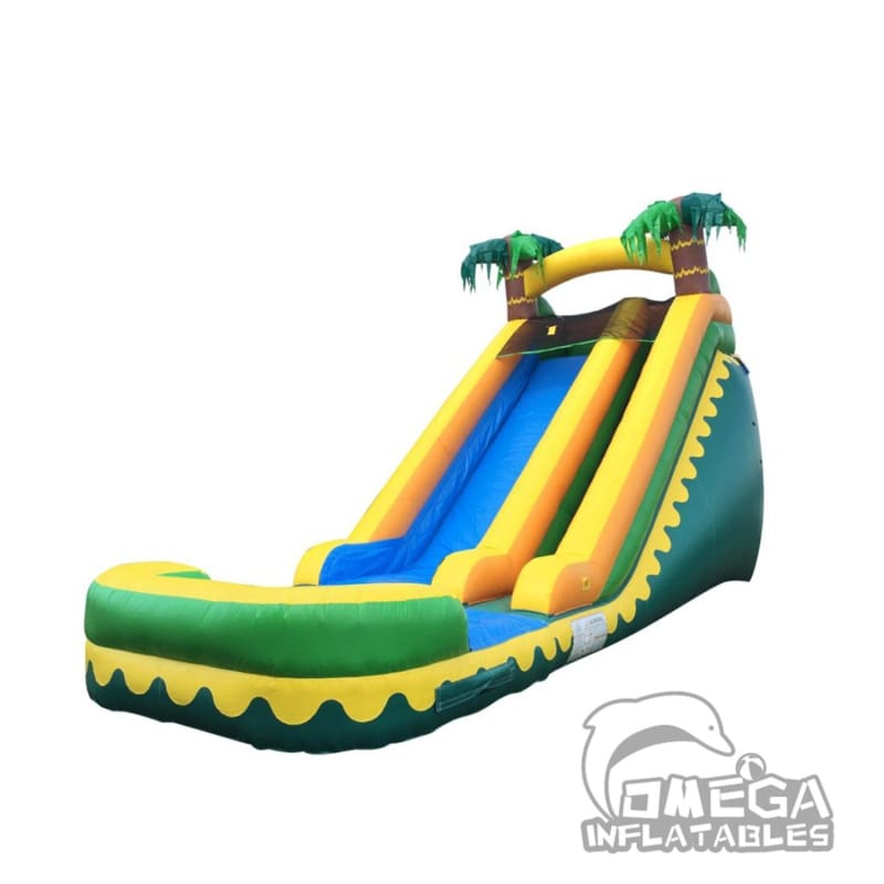 18FT Tropical Aloha Super Wet Dry Slide