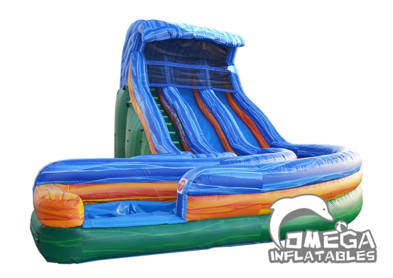 18FT Tsunami Inflatable Water Slide