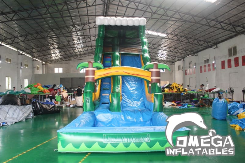 19FT Tropical Wave Wet Dry Slide