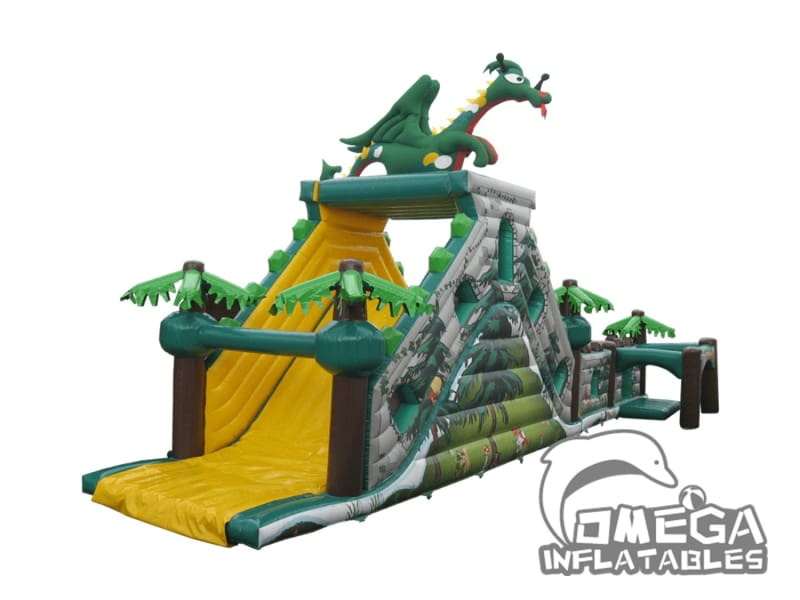 2 Part Dragons Forest Obstacle Course