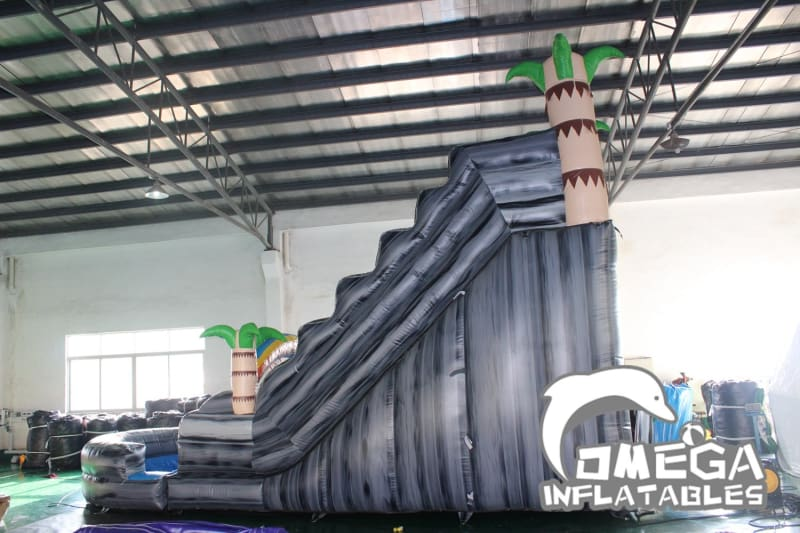 20FT Tropical Rainbow Water Slide