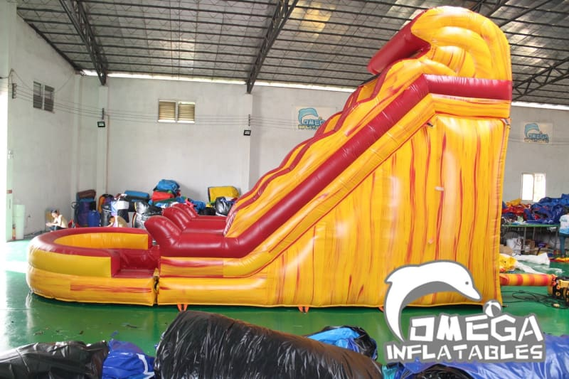 20FT Volcano Lava Falls Water Slide