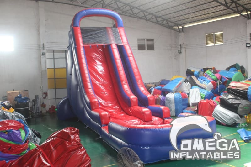 22FT Blue & Red Water Slide