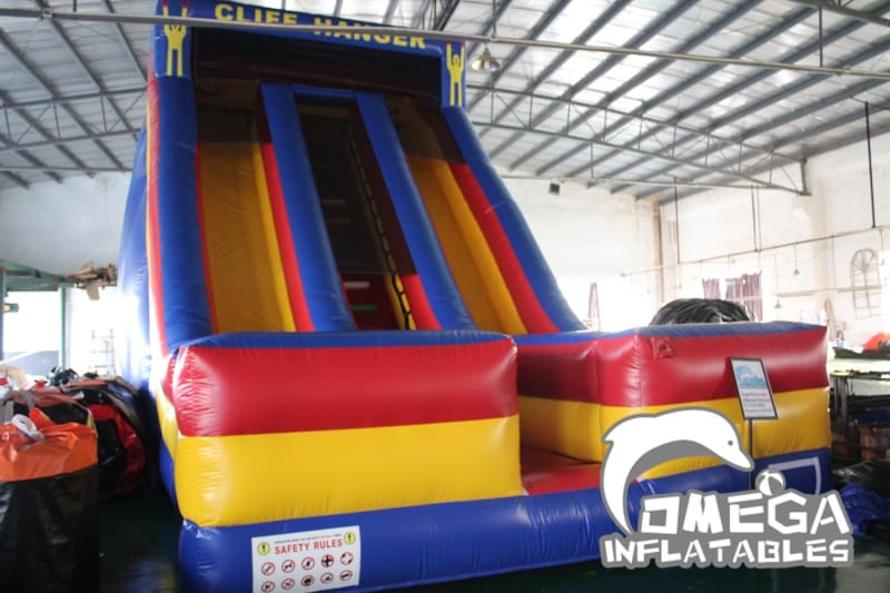 22FT Cliff Hanger Dry Slide