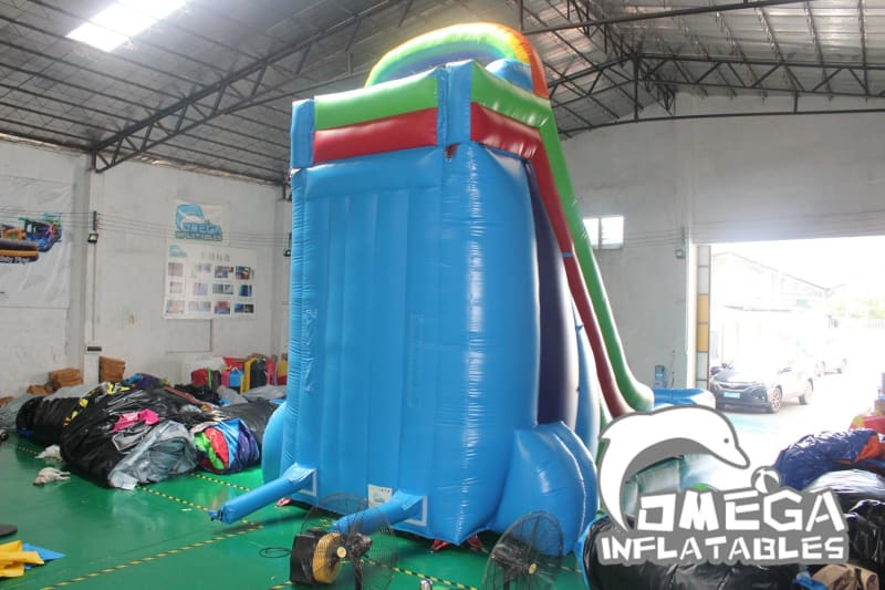 22FT Colorful Water Slide