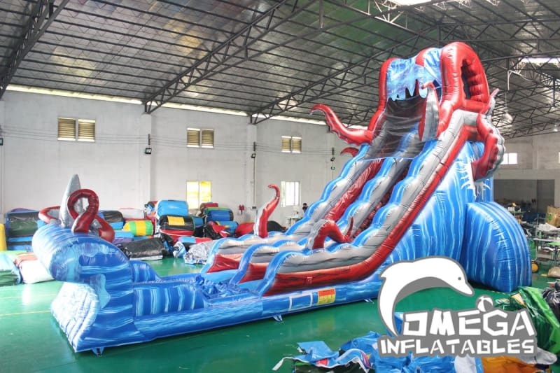 23FT Ocean Battle Water Slide