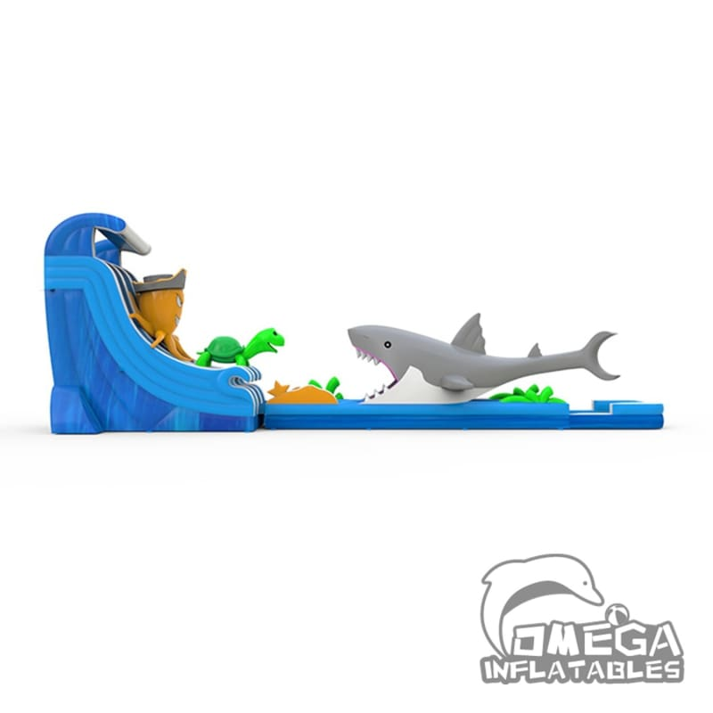 23FT Sea World Water Slide