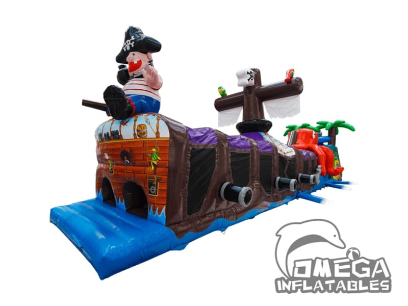 24m Pirate Ship Obstacle Course