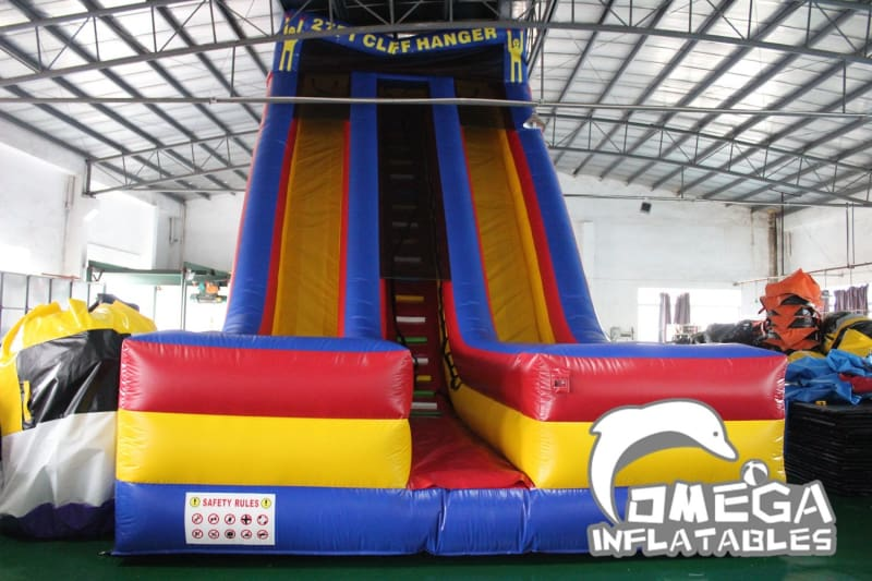 27FT Cliff Hanger Dry Slide