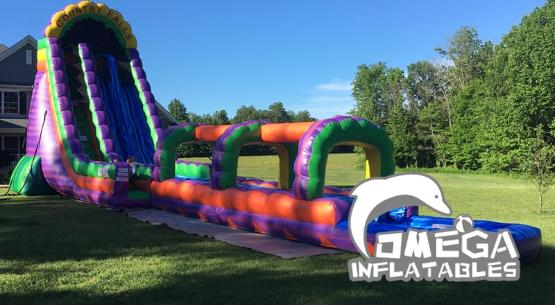 27FT Country Falls Water Slide