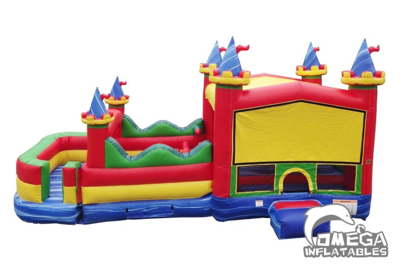 30FT Circus Obstacle Bounce House