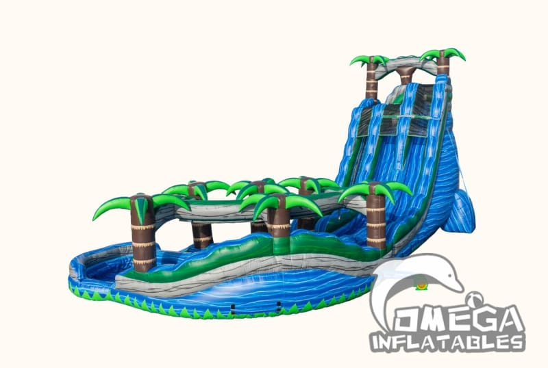 30FT Tropical Cyclone Water Slide