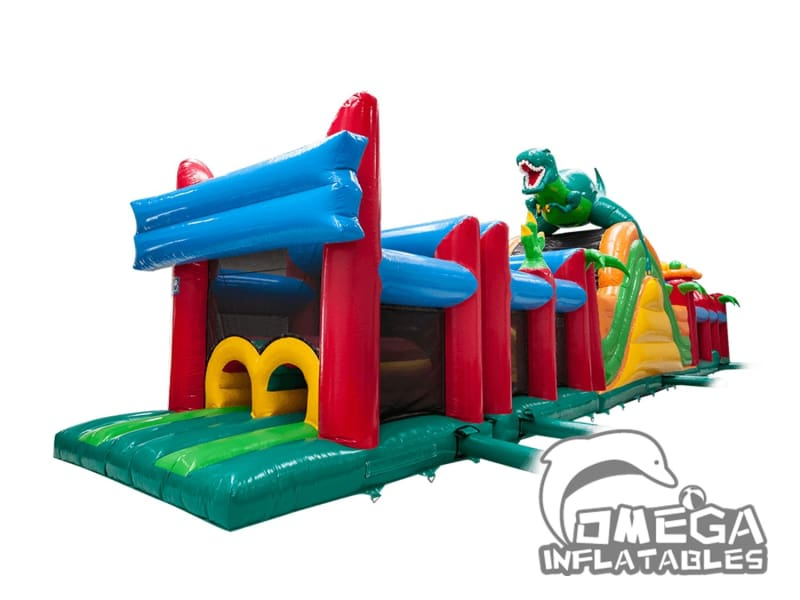 4 Part Dino Run Obstacle Course