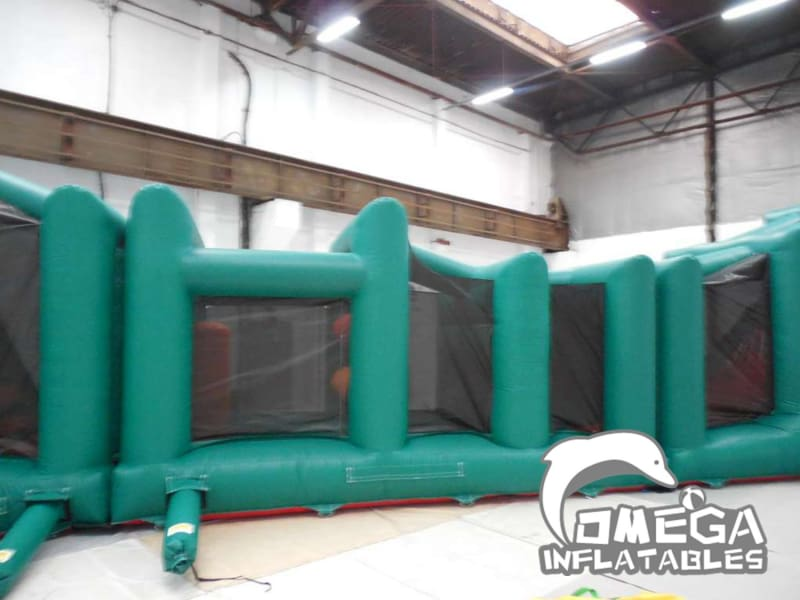 4 Part Green Obstacle Course
