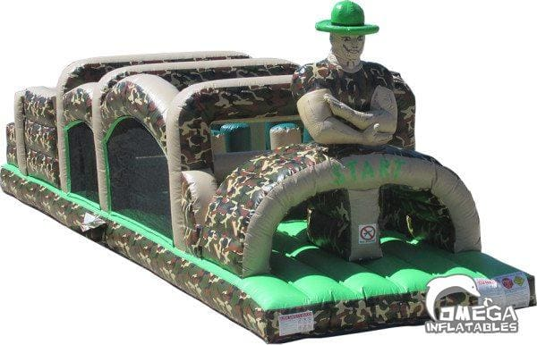 40ft Camo Obstacle Course