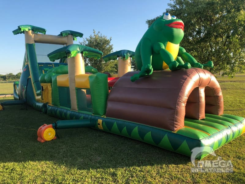 50ft Jungle Obstacle Course