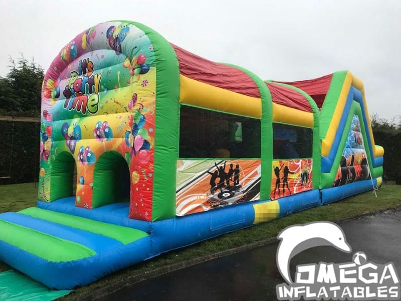 50FT Party Time Obstacle Course