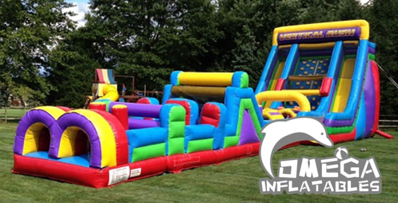 67FT Vertical Rush Obstacle Course