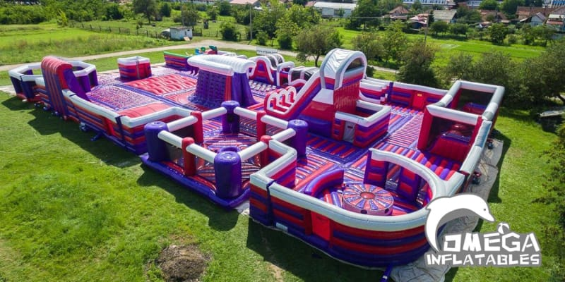 Adrenaline Park Venture Inflatable Theme Park