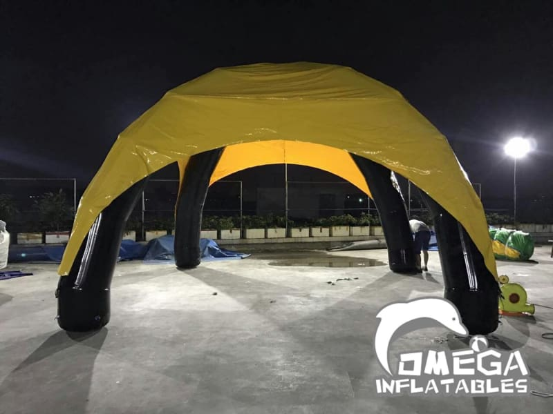 Airtight Inflatable Tent for Mechanical Bull Rodeo - Omega Inflatables Factory
