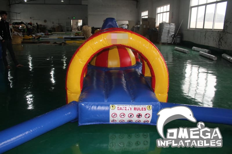 Amusement Park Equipment Inflatable Water Obstacle Course