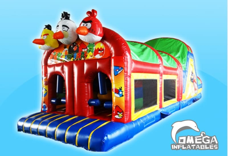 Angry Birds Obstacle Course