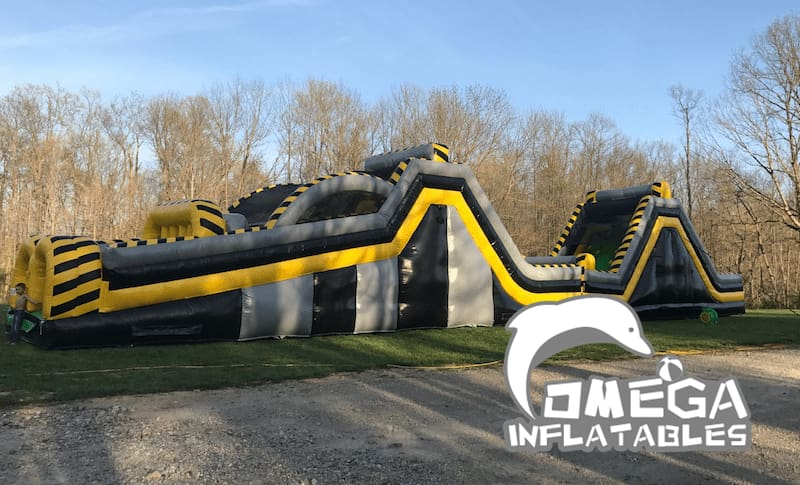 Atomic Blast Obstacle Course