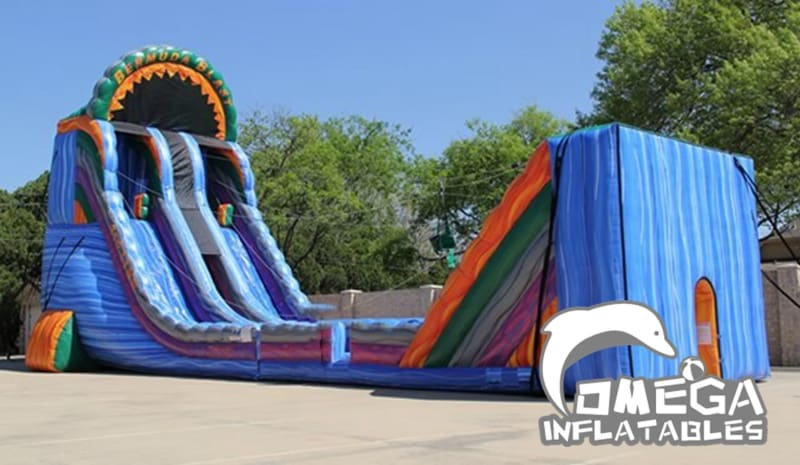 Bermuda Blast-Giant Inflatable Zipline (full set)